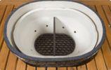 Firebox Divider Oval LG 300