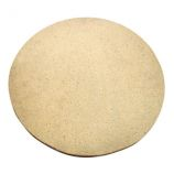 16in Natural Finish Ceramic Baking Stone for XL 400 LG 300 and Kamado