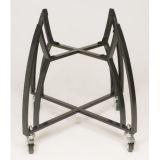 Bronze Cart Kit - Coated Steel Cart and Bamboo Shelves