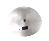 HPC 36 Inch High Capacity Stainless Steel Flat Round Firepit Pan
