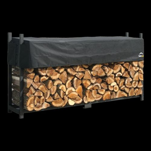 8 ft. / 2,4 m Ultra Duty Firewood Rack with Cover