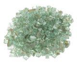 "10 LBS 1/4"" Size Fire Glass- Mint"