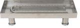 """18"""" 304 Stainless Steel Burner Pan With U-Burner"""