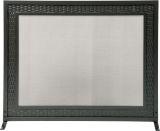 "31"" H X 39"" W Panel Screen Black Weave Design"