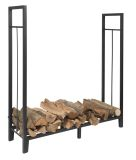 Black Steel Log Holder