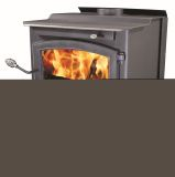 "20"" Log Medium Epa Wood Stove W/Blower, Pedestal"