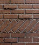 "Banded Brick Ceramic Fiber 36"" Liner for Select 36 Firebox"