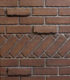 "Banded Brick 42"" Ceramic Fiber Liner for Select 42 Firebox"