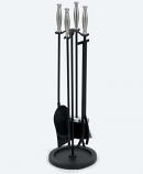 "Woodfield Satin Nickel/Black 4-piece 30"" Tool Set"