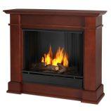 Devin Indoor Ventless Gel Fireplace, Dark Espresso