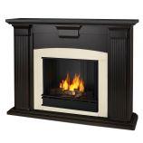 Adelaide Indoor Ventless Gel Fireplace, Blackwash