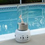 Cristallo Tabletop Fireplaces - Stainless Steel