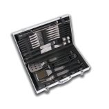 Eclipse 33 Piece BBQ Set with Ergonomic Handles & Hard Carrying Case