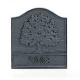 Woodfield Great Oak Cast Iron Fireback, Current Year Date