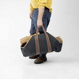 """Woodfield Canvas Carrier With Sides, 34""""W X 20""""H"""