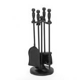 Woodfield Black 4-Piece Tool Set with Ball Handles