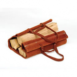 Woodfield Suede/Leather Log Carrier