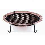 "Good Directions 36"" Diameter Large Fire Pit - Polished Copper"