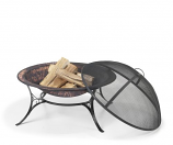 "Good Directions 30"" Medium Fire Pit with Spark Screen"