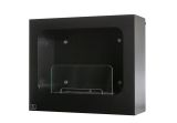 Colombus Wall mounted Bio-ethanol fireplace-Black