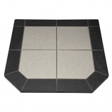"Night Shadows Tile Stove Board, Double Cut, 48"" x 48"""