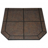 "Tartara Tile Stove Board, Single Cut Corner, 40"" x 40"""