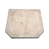 "Carmel Tile Stove Board, Single Cut Corner, 40"" x 40"""