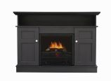 Monte Carlo Electric Fireplace TV Stand -Black