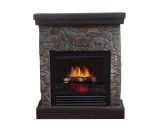 Telluride Polystone Electric Fireplace