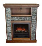 Ashville Electric Fireplace-Old Oak