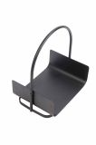 Basket Style Cast Iron Matte Black Log Holder From Boone Hearth