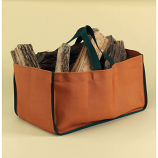 Minuteman Weathered Pumpkin Closed-End Log Tote