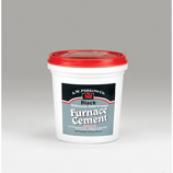 Furnace Cement, Black, 1 Pint Tub