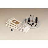Cricket Ash-Vac Attachment Kit, 8 Attachments