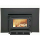 Flame XTD 1.5-I Small Woodburning Insert with Black Faceplate