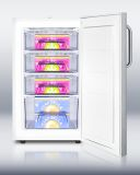 Medical Built-in Under-Counter Manual Defrost ADA Freezer -Stainless