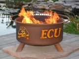 """East Carolina Fire Pit by Patina Products - 24"""" Cold Rolled Steel & Rust Finish"""