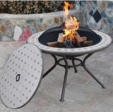 Marble Milano Fire Pit Table