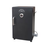 "26"" Electric Smoker with Steel Racks & Temp Control"