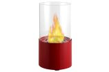 Circum Red Tabletop Ventless Ethanol Fireplace