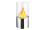 Circum Stainless Steel Tabletop Ventless Ethanol Fireplace