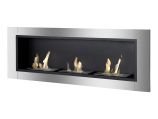 Ardella Wall Mounted / Recessed Ventless Ethanol Fireplace