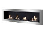 Accalia Wall Mounted / Recessed Ventless Ethanol Fireplace