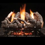"Heritage Char Vent Free 24"" Gas Logs with Manual Valve - NG"