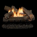 "Crescent Hill Vent Free 24"" Gas Logs with Millivolt Control - LP"