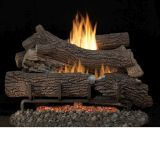 "Outdoor Giant Timbers 24"" Gas Logs with Stainless Steel Millivolt - LP"