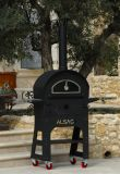Alsace, Patented Dual Wood-Fired Outdoor Oven and Grill