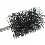 "11"" Round, Wire, 3/8"" Npt - Master Sweep Chimney Brush"