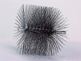 "10"" Round Wire 1/4"" Npt - Chimney Sweep Chimney Brush"