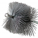"11"" Square Wire 1/4"" Npt - Chimney Sweep Chimney Brush"